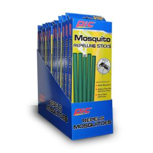 PIC PIC Mosquito Repellent Sticks (5-Pack/Case) (Total Number of Sticks - 60) from Insect Traps