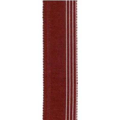Crimson 1.5 in. x 30 in. Rug Runner Edge