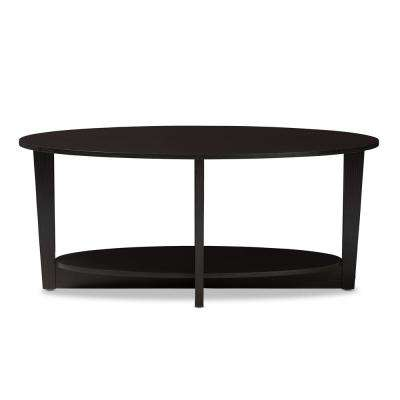 Jacintha Wenge Dark Brown Coffee Table