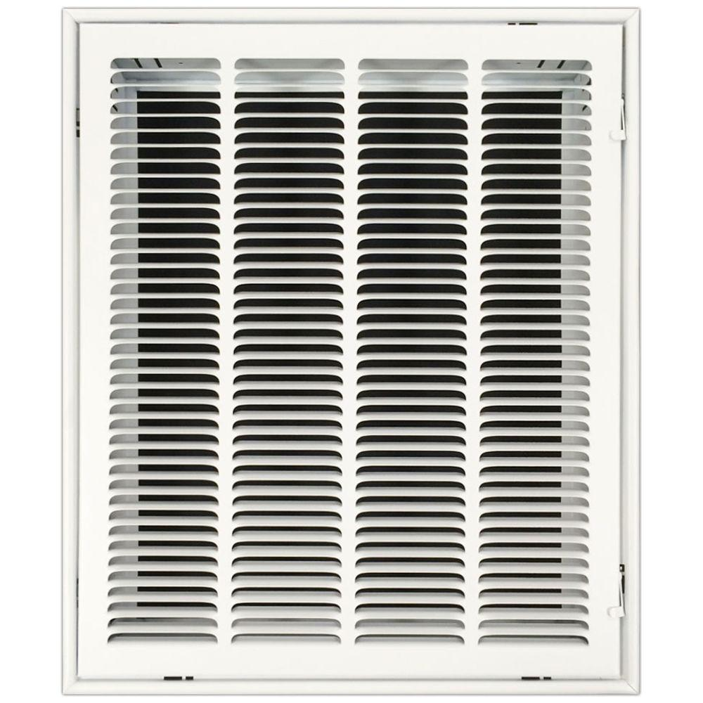 16 in. x 20 in. Return Air Vent Filter Grille with