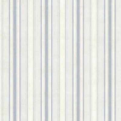 Ellsworth Denim Sunny Stripe Wallpaper Sample