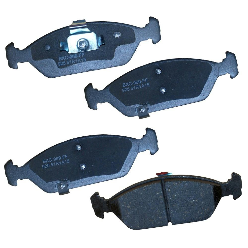 2000 Kia Spectra Suspension: Bendix Front STOP Ceramic Disc Brake Pad Fits 1994-2000