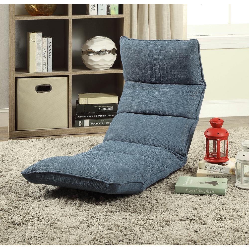 ACME Furniture Dark Teal Morris Gaming Floor Chair & ACME Furniture Dark Teal Morris Gaming Floor Chair-59601 - The Home ...