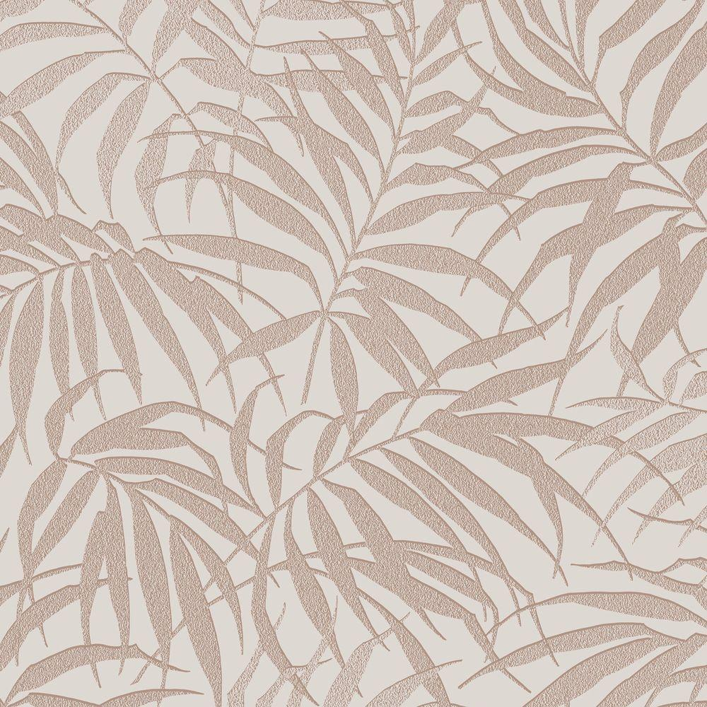 Graham brown taupe and rose gold tropic wallpaper 100530 for Wallpaper home pattern
