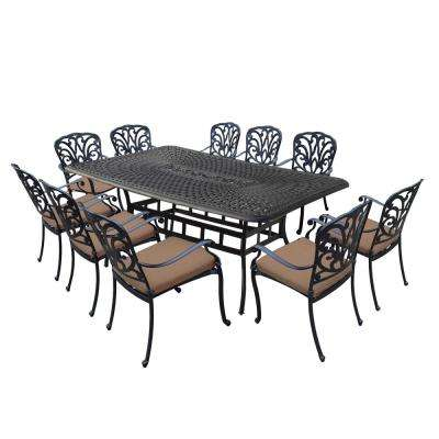 6 7 Person Rectangle Black Patio Dining Furniture Patio