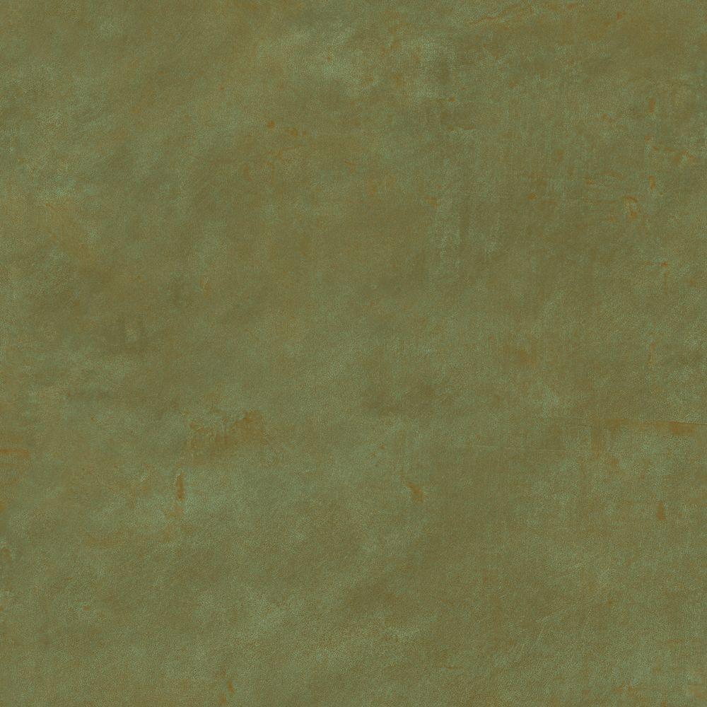The Wallpaper Company 8 in. x 10 in. Olive Leather Wallpaper Sample