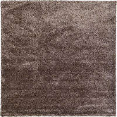 Luxe Solo Pinecone Brown 9' x 12' Rug