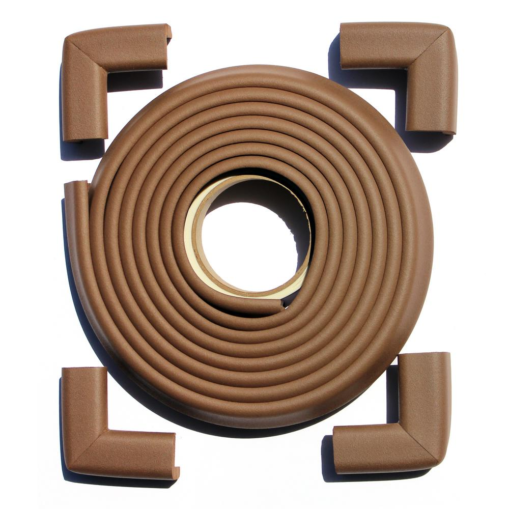 12 ft. Edge and Corner Safety Cushion Roll Plus Corners in