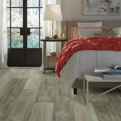 Pinecrest Click 9 in. x 59 in. Quarry Resilient Vinyl Plank Flooring (21.79 sq. ft. / case)