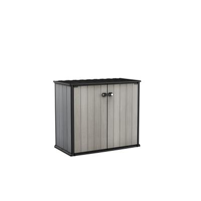 Patio Store 4.6 ft. x 2.6 ft. x 3.11 ft. Resin Horizontal Storage Shed