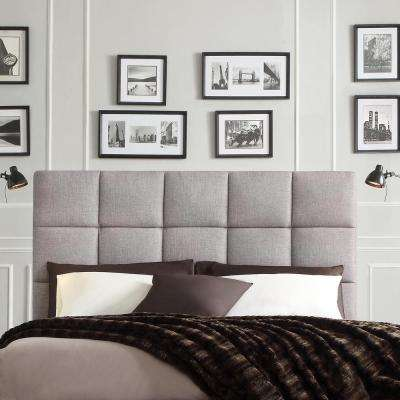Calais Grey Queen Headboard