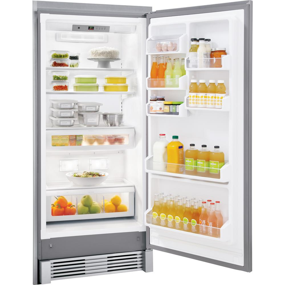 Frigidaire Gallery 18 6 Cu Ft Freezerless Refrigerator In Stainless Steel