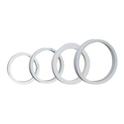 3/4 in., 1 in., 1-1/4 in. and 1-1/2 in. Assorted PVC Repair Ring (4-Pack)