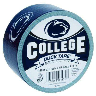 College 1-7/8 in. x 10 yds. Penn State University Duct Tape