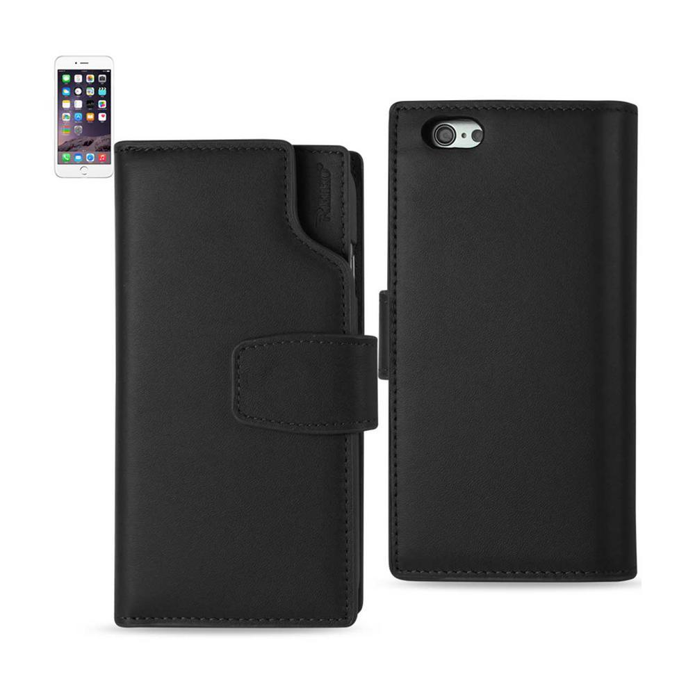 Reiko Iphone 6 6s Genuine Leather Design Case In Black Glfc02