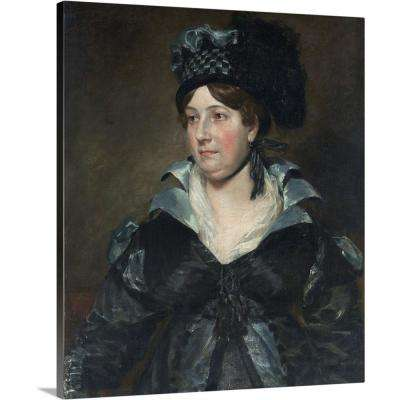 """Mrs. James Pulham Sr. (Frances Amys, ca. 1766-1856)"" by John Constable Canvas Wall Art"