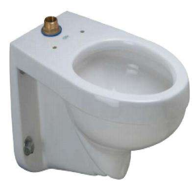1.1-1.6 GPF Elongated Wall Hung Toilet Bowl Only in White