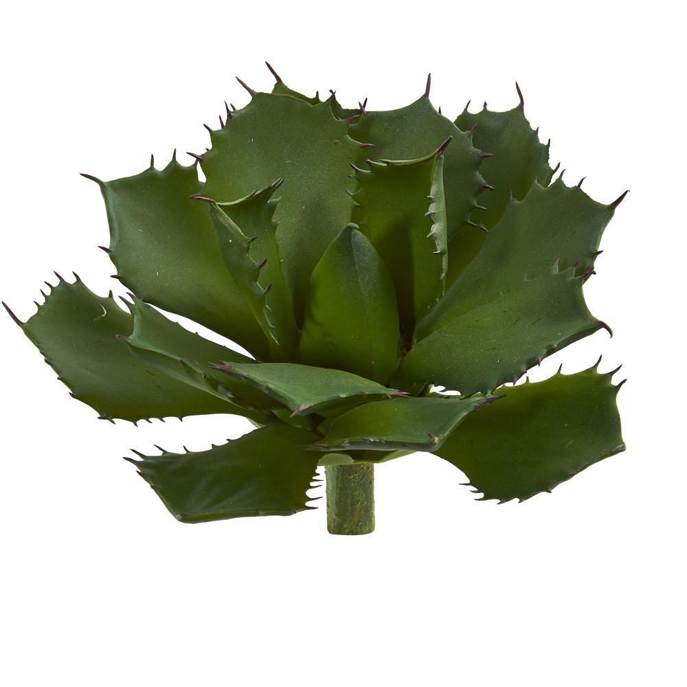 Indoor 15 Succulent Pick Artificial Plant (Set of 2)
