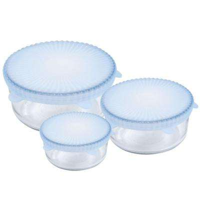 Universal Reusable Silicone Food Covers (Set of 3)