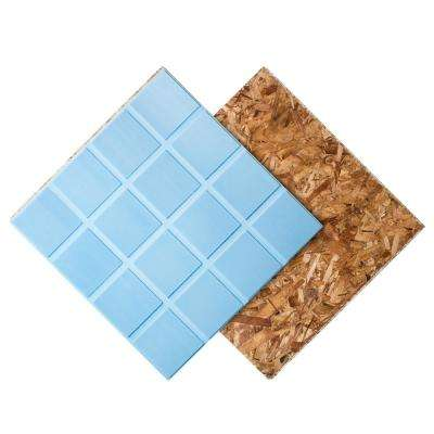 R+ Insulated Subfloor Panel 1 in. x 2 ft. x 2 ft. Specialty Panel