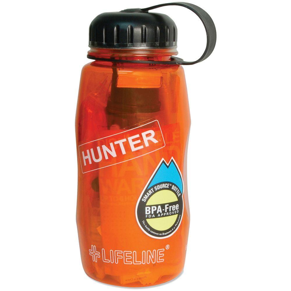 Lifeline 10-Piece Hunter In A Bottle First Aid Kit