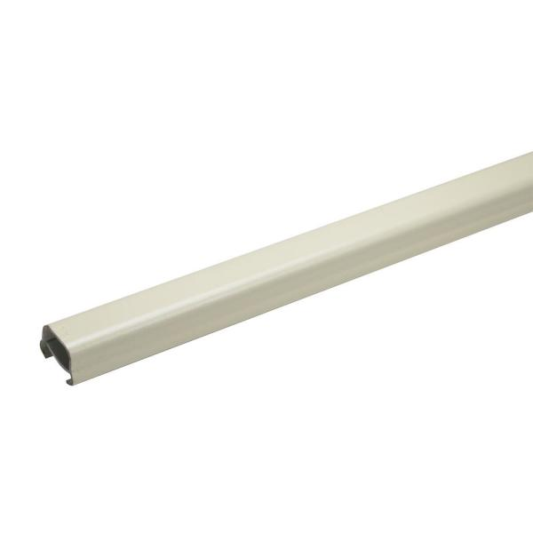 Wiremold 500 Series 5 ft. Metal Surface Raceway Channel, Ivory