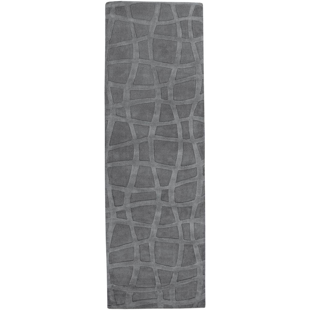 Candice Olson Gray 2 ft. 6 in. x 8 ft. Rug