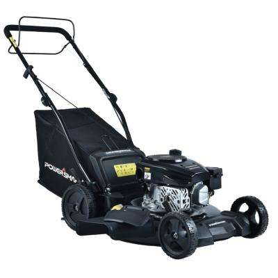 21 in. 3-in-1 170cc Gas Walk Behind Self Propelled Lawn Mower