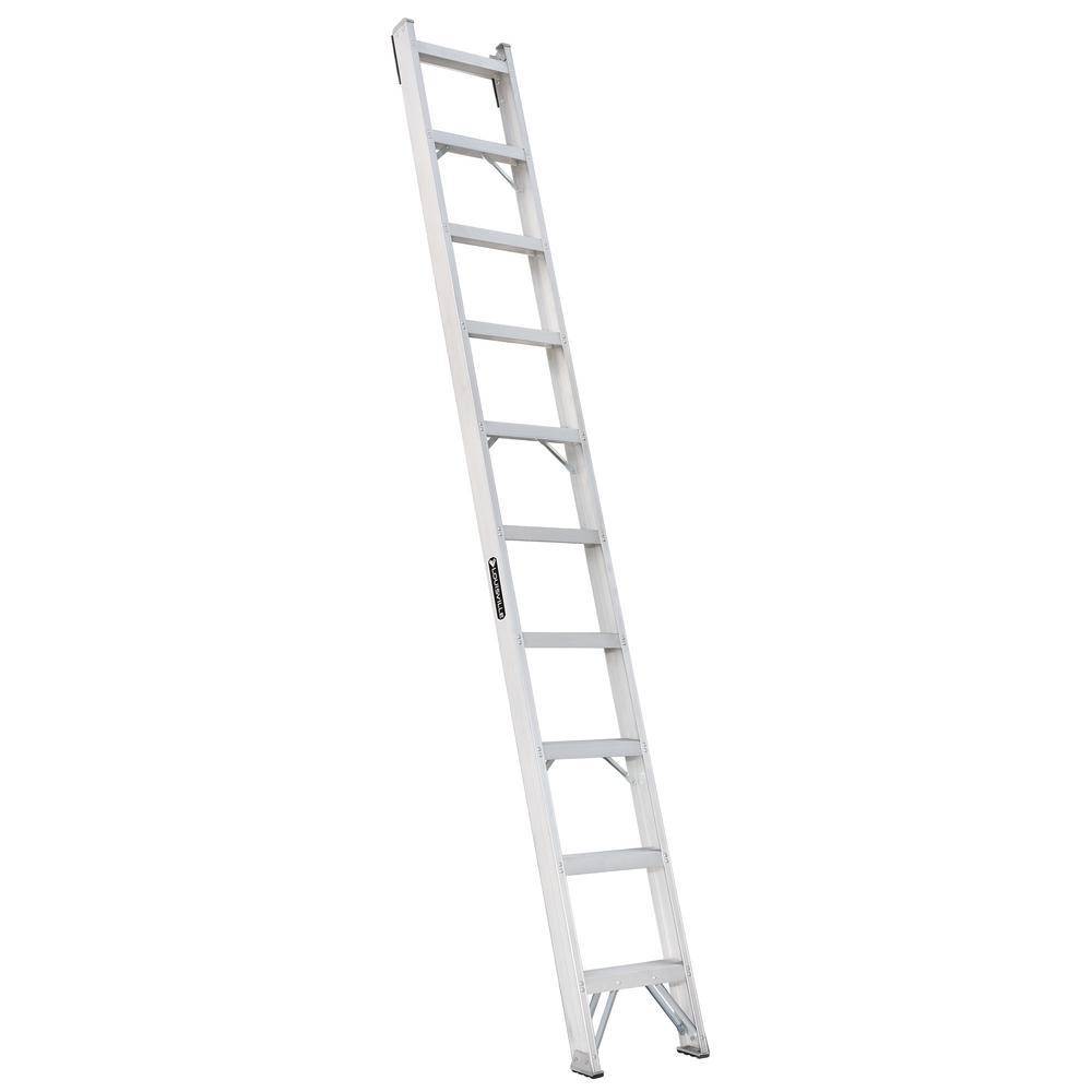 Louisville Ladder 10 Ft Aluminum Shelf Ladder With 300