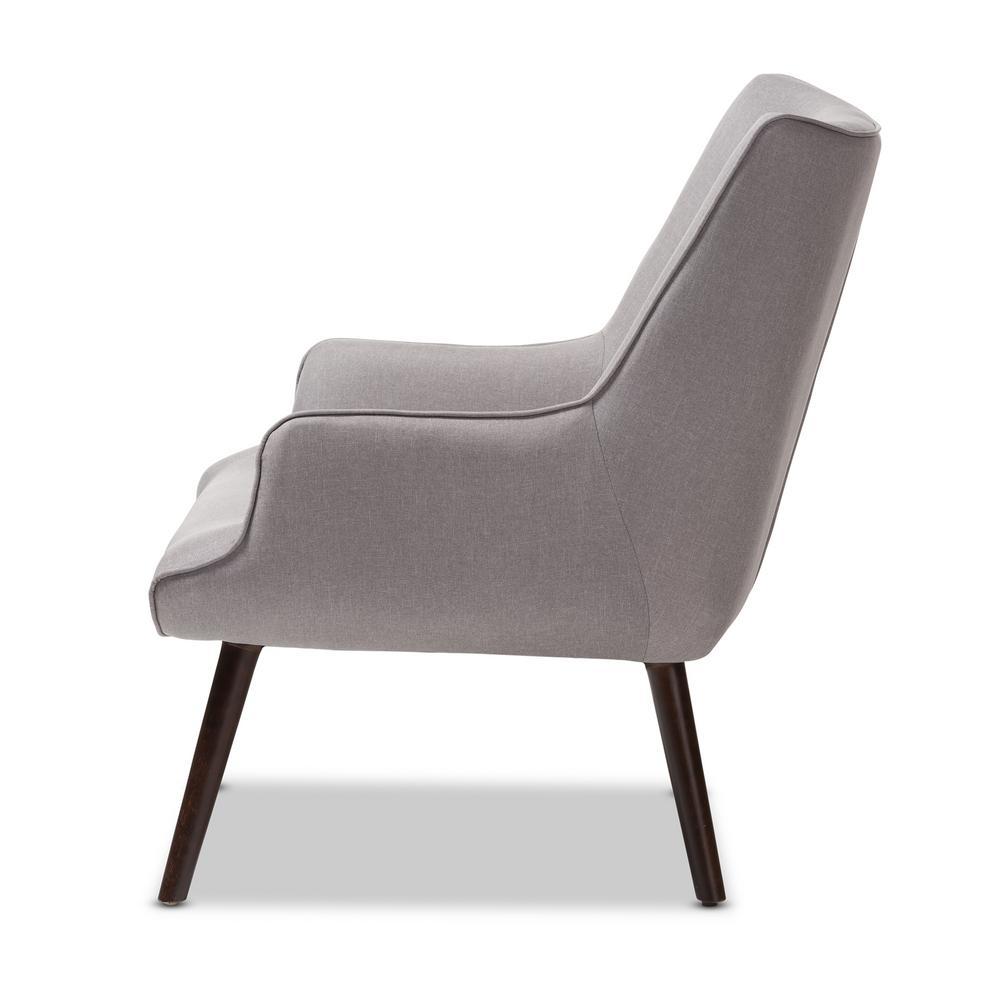 Remarkable Baxton Studio Alden Light Grey Fabric Upholstered Lounge Machost Co Dining Chair Design Ideas Machostcouk