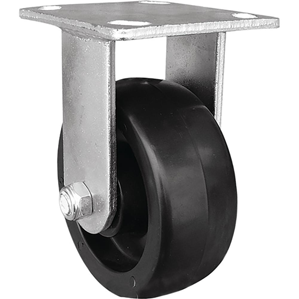 Shepherd 5 in. Poly Rigid Caster with 400 lb. Load Rating...