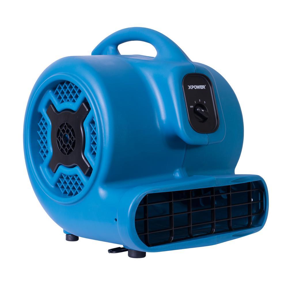 Xpower 1 Hp 3600 Cfm 3 Speed Air Mover Carpet Dryer Floor