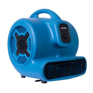 XPOWER 1 HP 3600 CFM 3-Speed Air Mover Carpet Dryer Floor Fan Blower by XPOWER