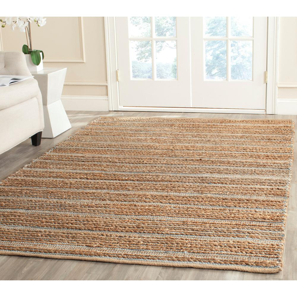 Cape Cod Blue 9 ft. x 12 ft. Area Rug