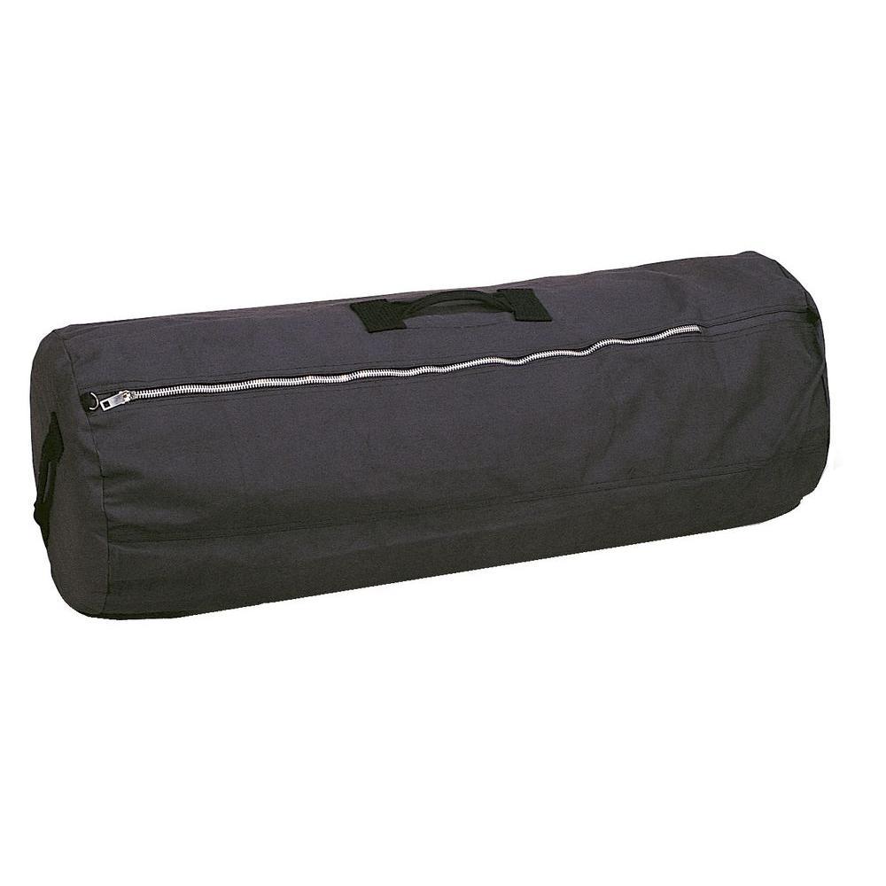 Stansport 21 in x 36 in duffel bag with zipper 1230 for Window zipper home depot