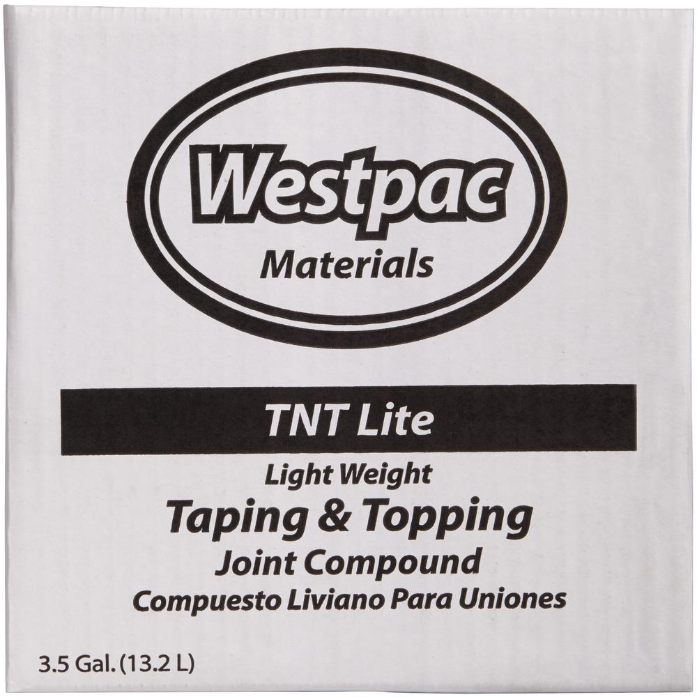 Westpac Materials 3 5 Gal Lightweight Taping And Topping Pre Mixed Joint Compound 18170h The Home Depot