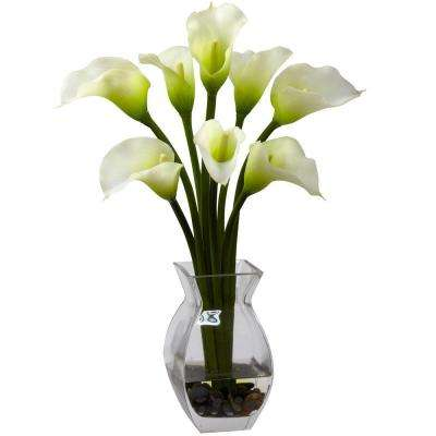 Classic Calla Lily Arrangement in Cream