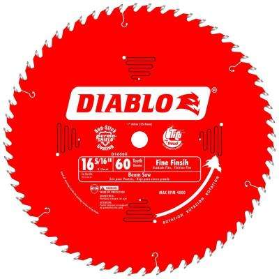 16-5/16 in. x 60-Tooth x 1 in. Arbor Fine Finish Saw Blade for Beam Saws