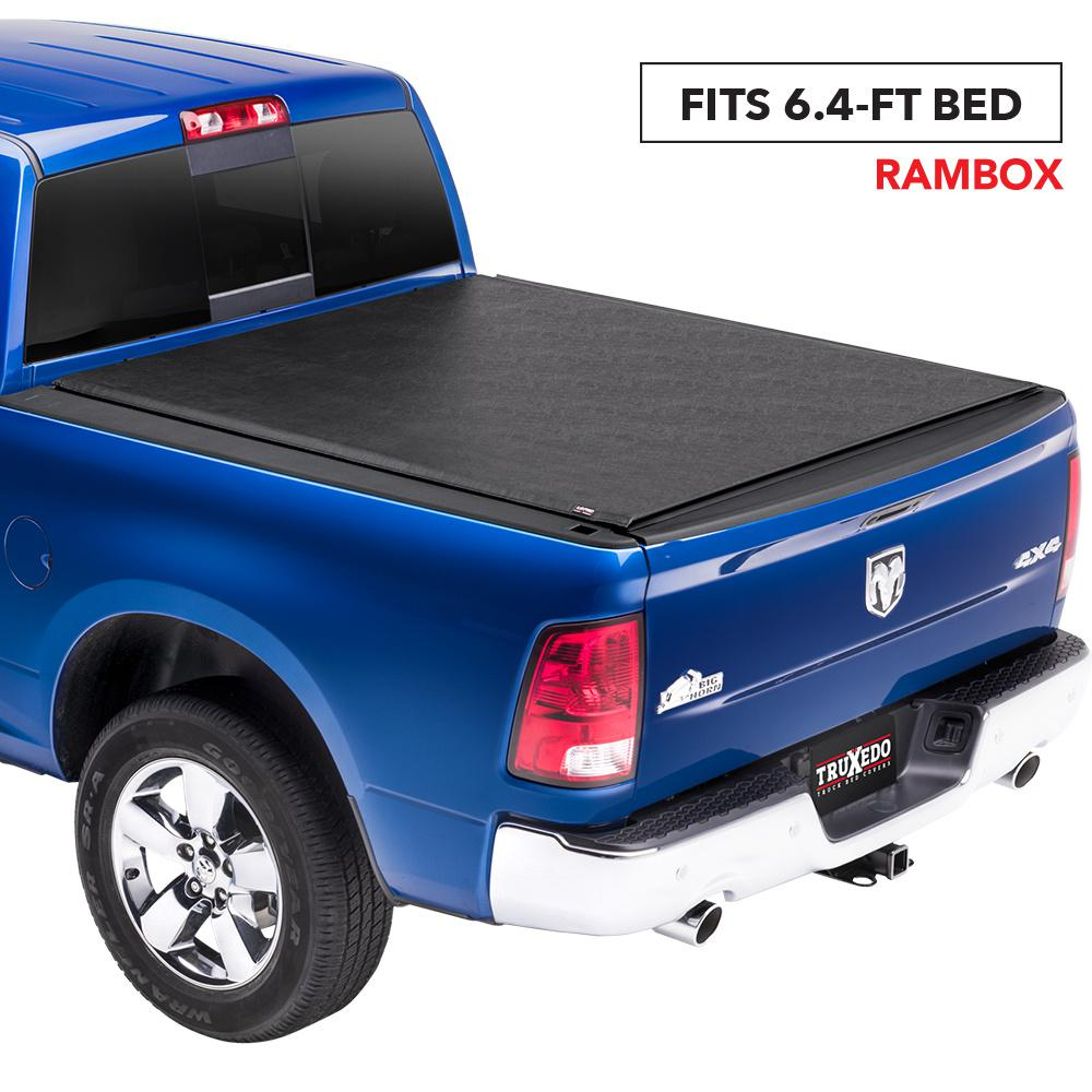 Truxedo Lo Pro 12 18 19 Classic Ram 1500 12 19 2500 3500 6 Ft 4 In Bed Tonneau Cover With Rambox 547901 The Home Depot