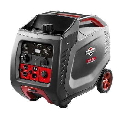 PowerSmart Series 3000-Watt Gasoline Powered Manual Start Inverter Generator