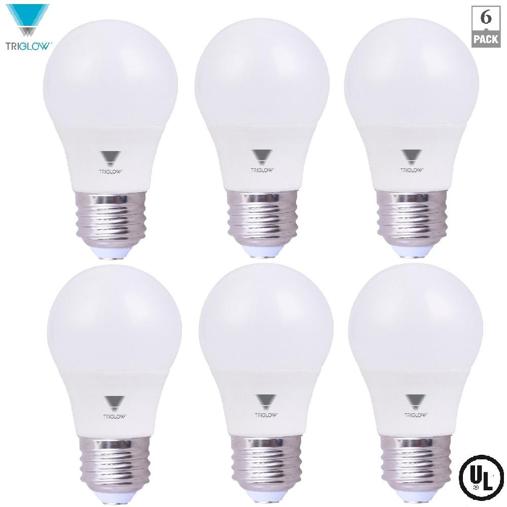 6.5-Watt A15 LED Appliance Light Bulb Daylight (6-Pack)
