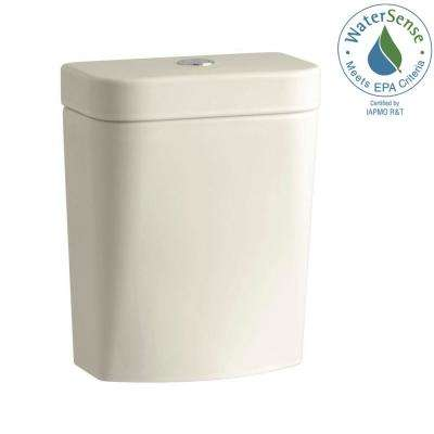 Persuade Circ 1.0 or 1.6 GPF Dual Flush Toilet Tank Only in Almond