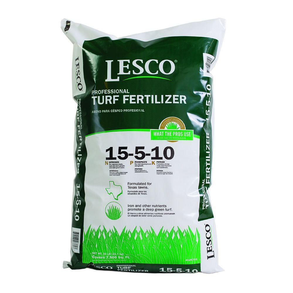 Lesco 15 5 10 Texas Turf Fertilizer