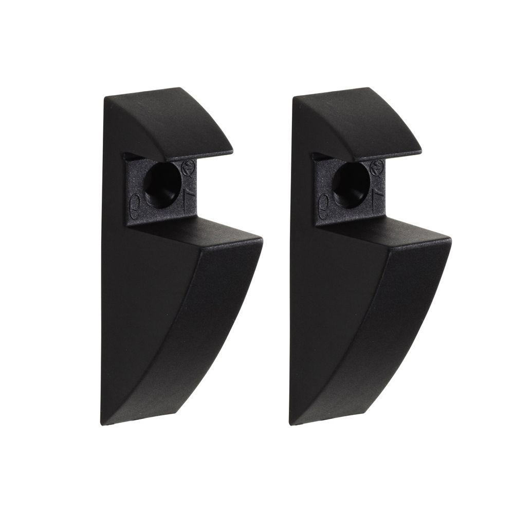 Shelf Support Clip In Black