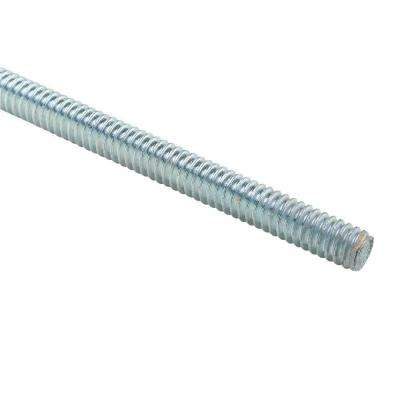 3/8 in. x 10 ft. Galvanized Threaded Electrical Support Rod