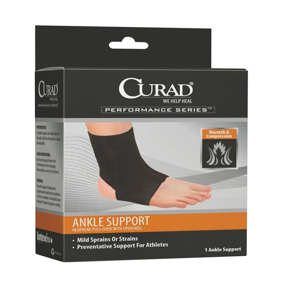 Extra-Large Neoprene Open Heel Ankle Support
