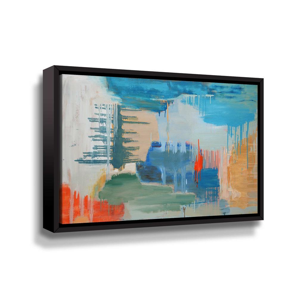ArtWall Beacon' by Carolyn O'Neill Framed Canvas Wall Art 5one001a2436f