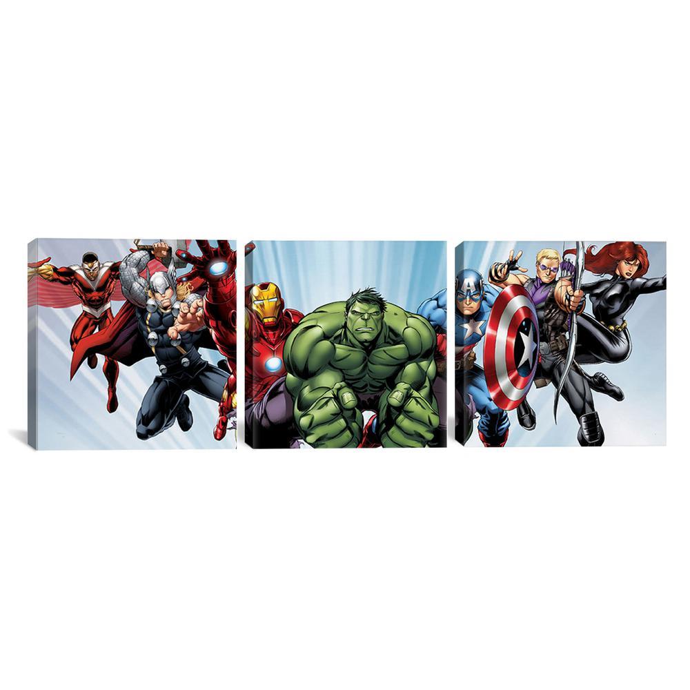 American Art Decor Licensed Marvel Comics Original Avengers