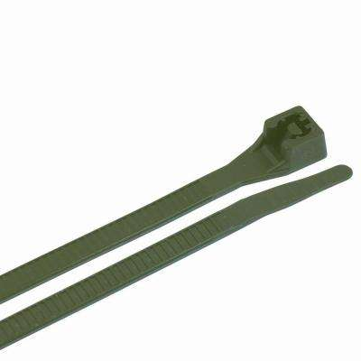 8 in. Cable Tie Recycled 50 lb. (75-Pack) Case of 10