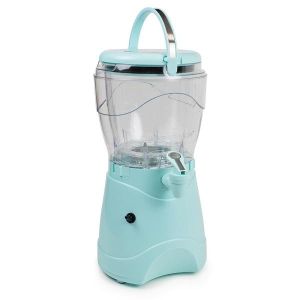 Easy-Flow Spout Makes 1 Gallon of Drinks Nostalgia MSB1AQ Margarita /& Slush Machine With Carry Handle Aqua